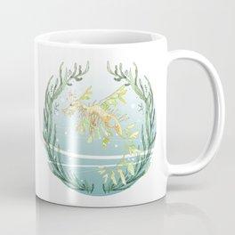 Leafy Seadragon in Green Coffee Mug