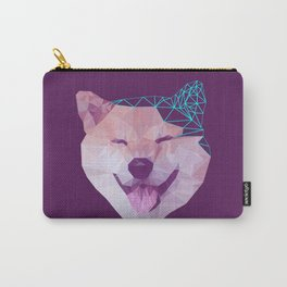 Happy Shiba Carry-All Pouch