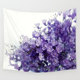 VIOLET TREE Wall Tapestry