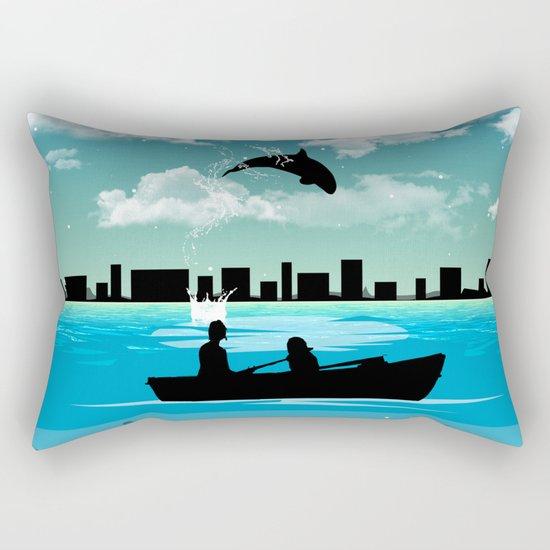 Whaleing Rectangular Pillow
