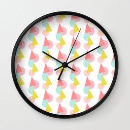 Geo Deco Wall Clock