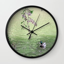 Wild Duck Wall Clock
