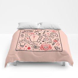Good Clean Horror Comforters