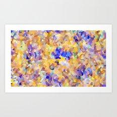 camouflage world Art Print