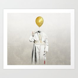 The Pope - #4 Art Print