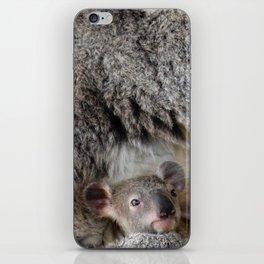 Mother Koala and Baby iPhone Skin