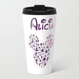 Custom Alicia mouse Travel Mug