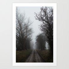 Foggy Winter Day III Art Print