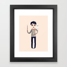 Little Harry Framed Art Print