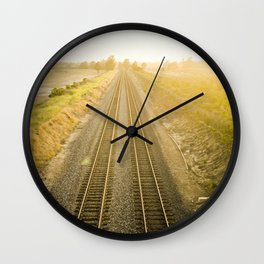 Central California  Wall Clock