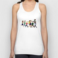 parks and rec Tank Tops featuring Parks Department by Anna Valle