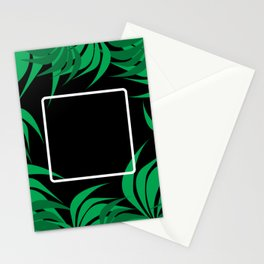 Square Leaf Stationery Cards