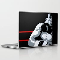 rocky Laptop & iPad Skins featuring Rocky by iankingart