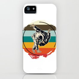 Sparring Athletes iPhone Case