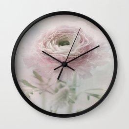 Ranunculus feelings Wall Clock