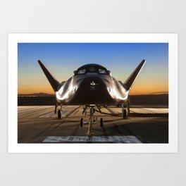 1417. Dream Chaser Flight Vehicle  Art Print