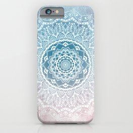 VINTAGE SPRING LACE MANDALA iPhone Case