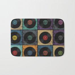 Vinyl Records Bath Mat