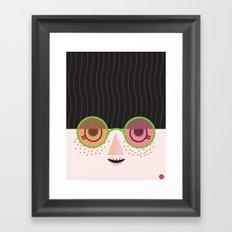 Mello Framed Art Print