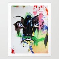 mod Art Prints featuring MOD by Beka Lerner