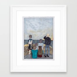 Cloud Chasers Framed Art Print