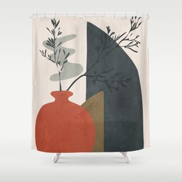 Abstract Elements 12 Shower Curtain