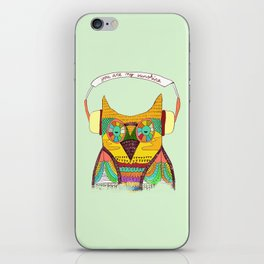 The Owl rustic song iPhone Skin