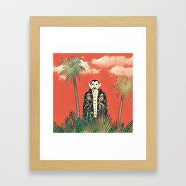 Dracula in the jungle Framed Art Print
