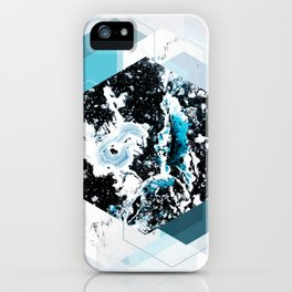 Geometric Textures 4 iPhone Case