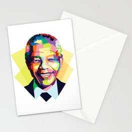 Nelson Mandela | Rainbow Nation Stationery Cards