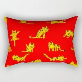 Tigrrrrs Rectangular Pillow