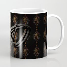basketball pattern Coffee Mug