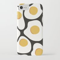 egg iPhone & iPod Cases featuring Egg by KMOEN