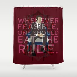 Hannibal - Hannibal Lecter Shower Curtain