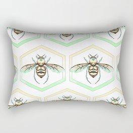 Queen/King Bee Warm Colors Rectangular Pillow