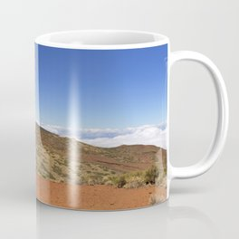 Mount Teide peak on Tenerife above the clouds Coffee Mug