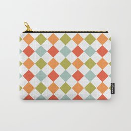 Geometric Spring Pattern Carry-All Pouch