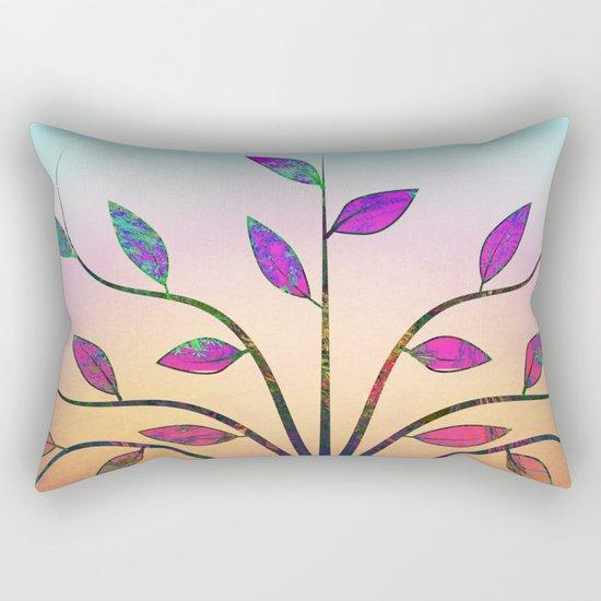 Ornamental Tree Rectangular Pillow