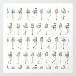 The Bird Walk Art Print