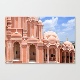 jaipur, the pink city Canvas Print