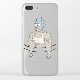 Muscle Rick from pocket Clear iPhone Case