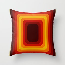 Retro Design 01 Throw Pillow