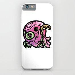 Pink Gorilla X Enfu Octopus Mech iPhone Case
