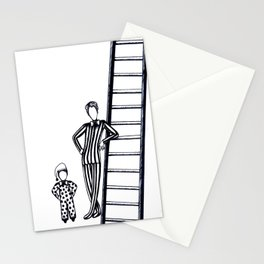 Circus Posture Stationery Cards