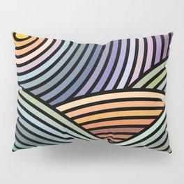 Hypnotic landscape Pillow Sham