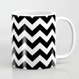 Black Safari Chevron Coffee Mug