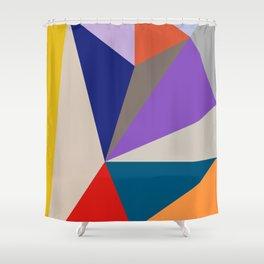FLATLAND Shower Curtain