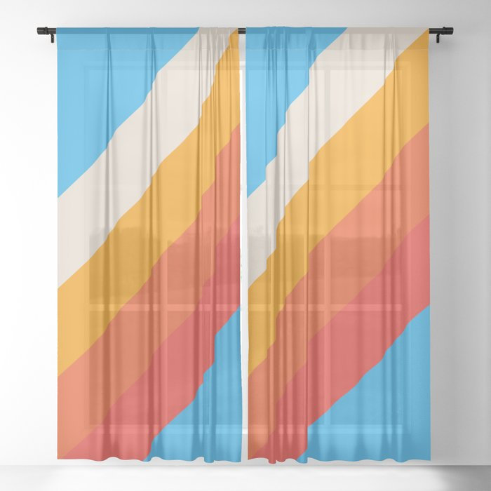 Classic Retro Gefjun Sheer Curtain