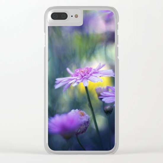 Meadows Clear iPhone Case
