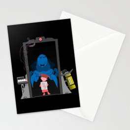 Boo's Door  Stationery Cards